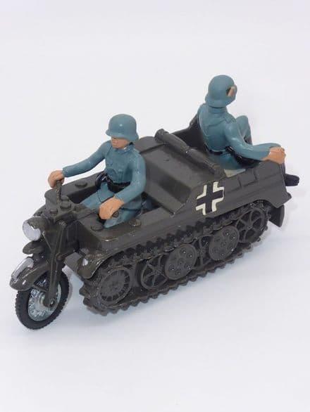 Britains 9780 Kettenkrad WWII German Semi-Track Motorcycle