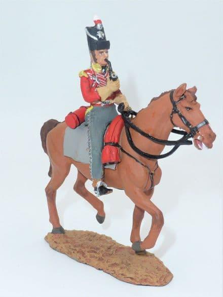 Del Prado - Officer de Dragons, Grande-Bretagne, 1809