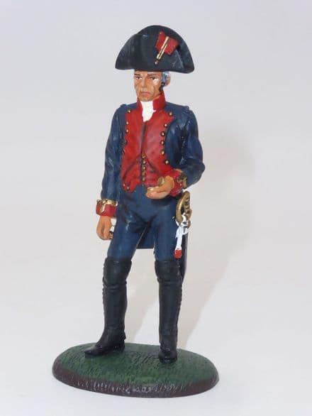 Del Prado - Sergeant, Spanish Marine Artillery, 1797
