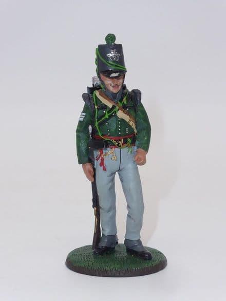 Del Prado Sgt. Sharpshooters, 2nd Light Bn. KGL, 1815