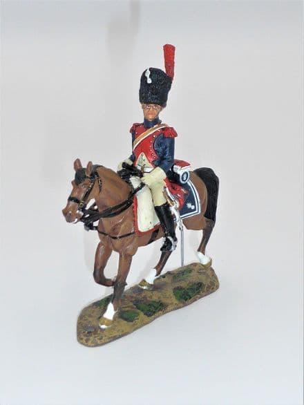 Del Prado Trooper French Carabiniers, C1800 Mounted Figure