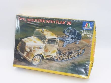 Italeri 1/35th Plastic Kit No 380 - Opel Maultier with FLAK 38