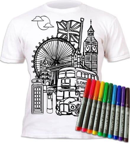 London Colour in T-Shirt