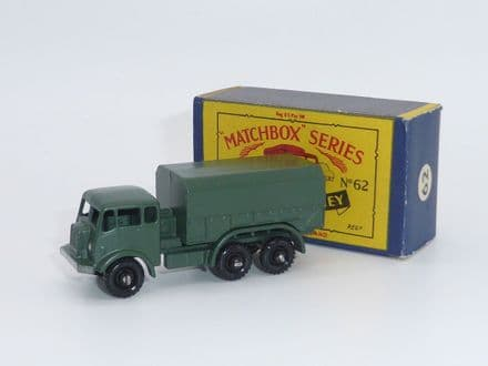 Matchbox Moko Lesney General Service Military Lorry Item 62