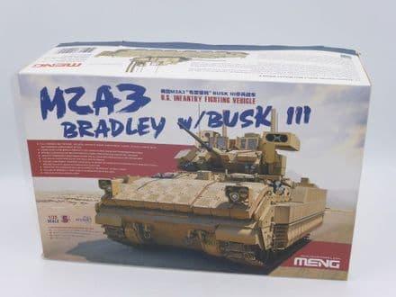 Meng M2A3 U.S. Infantry Fighting Vehicle Bradley W/Busk 111 Kit SS-004