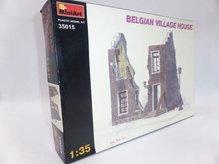 MiniArt 1/35th Plastic Kit No 35015 - Belgian Village House