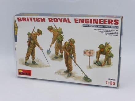 MiniArt 1/35th Plastic Kit No 35083 - WWII British Royal Engineers