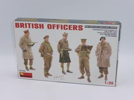 MiniArt 1/35th Plastic Kit No 35165 - WWII British Officers