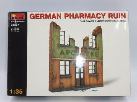 MiniArt 1/35th Plastic Kit No 35537 - German Pharmacy Ruin