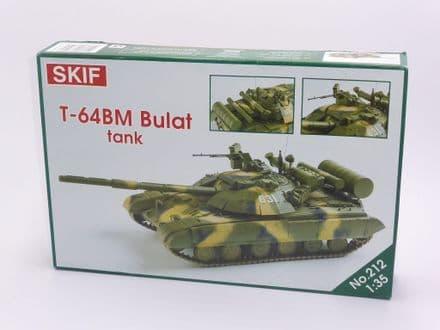 SKIF T-64BM Bulat Ukrainian Main Battle Tank 1:35 Scale Kit 212