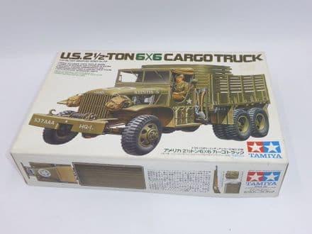 Tamiya 1/35th Plastic Kit No 35218 - WWII U.S. 2 1/2 Ton 6X6 Cargo Truck