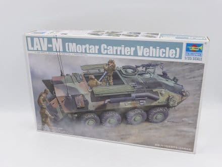 Trumpeter Kit 00391 - LAV-M  Light Armoured Vehicle  Mortar Carrier 1:35 Scale