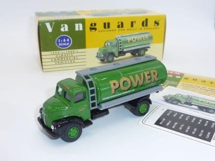 """VA20000 Vanguard Leyland Comet Tanker """"Power Petrol"""""""