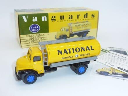 "VA20001 Vanguards Limited Edition Leyland Comet Tanker ""National Benzole"""