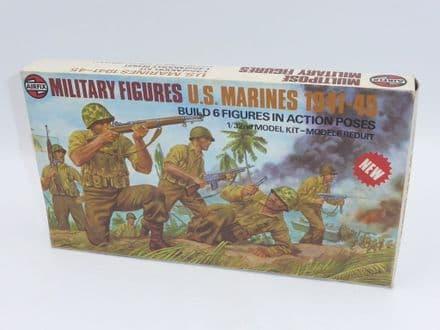 Vintage Airfix Military Figures U.S. Marines 1941-45 Kit Number 03583-9