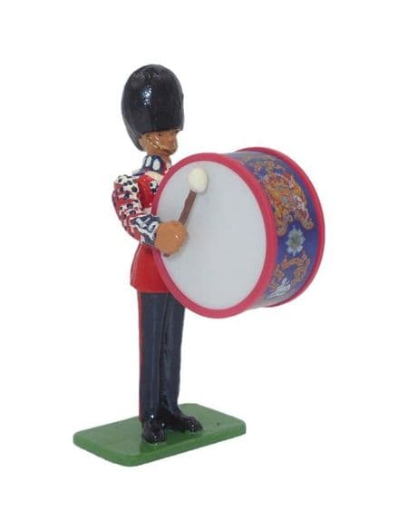 WB00214 Bass Drummer - Scots Guards 1899