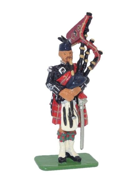 WB00214 Pipe Major - Scots Guards 1899
