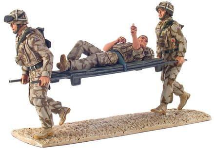 WB10027  Modern British Army Stretcher Bearer Set, Kings Royal Hussar's, Iraq, 2007