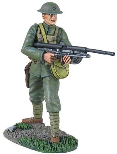WB10043 U.S. Marine WW1 Chau-Chat Gunner