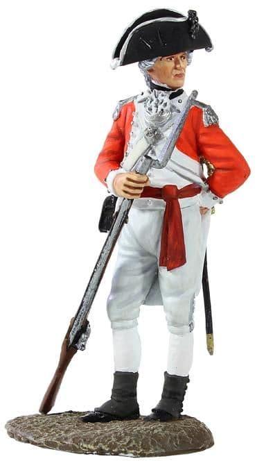 WB13000 British Marine Officer 1780