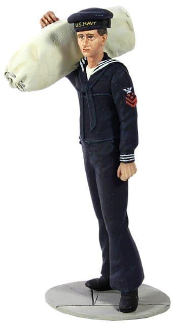 WB13006 U.S. Navy Sailor in Blue Winter Service Dress