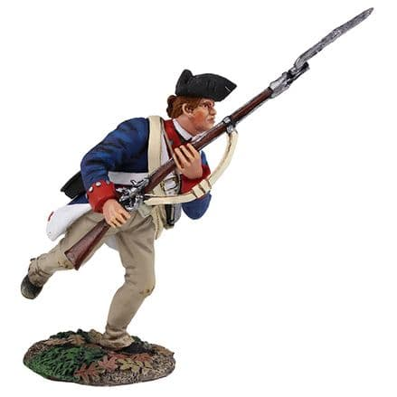 WB16022 Continental Line/1st American Regiment Charging with Bayonet 1777-1787