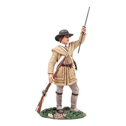 WB16036 Colonial Militia Standing Loading