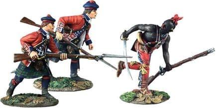 "WB16039 ""Art of War"" - Battle of Bushy Run No.1 3 Piece Set Limited Edition of 350 Sets"