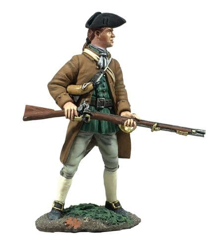 WB16070 Colonial Militia Standing at Ready No 2