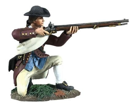 WB16071  Colonial Militia Kneeling Firing No 3
