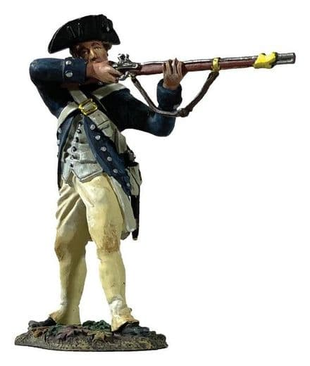 WB16079 - Clark's Illinois Regiment Standing Firing, 1782