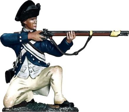 WB16080 George Rogers Clark Illinois Regiment Kneeling Firing