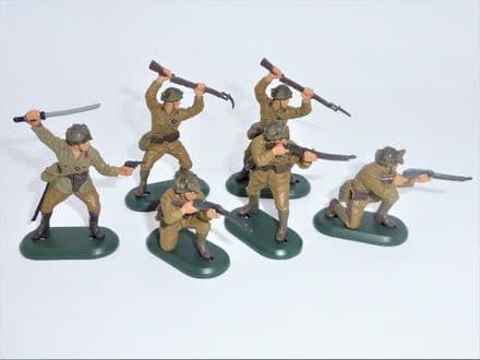 WB17829B Set of 6 WW11 Japanese Figures