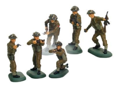 WB17831A William Britains Super Deetail Set of 6 WW11 British Infantry Figures