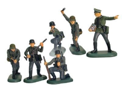 WB17832A William Britains Super Deetail Set of 6 WW11 German Infantry Figures
