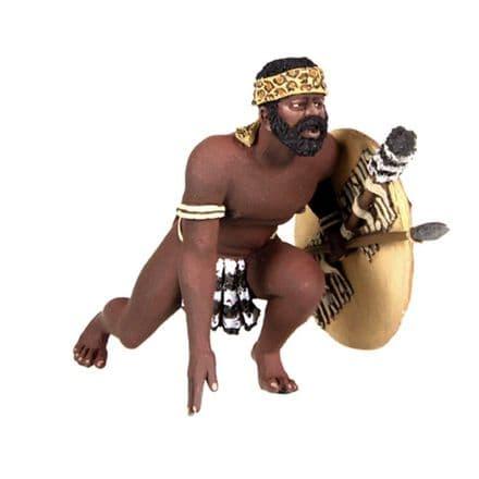 WB20158 Zulu Warrior Getting up to Run