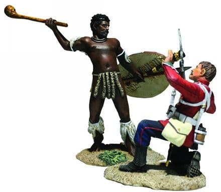 """WB20182 """"Closing in"""" British 24th Foot & Zulu Hand to Hand"""