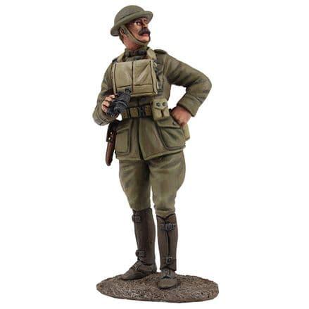 WB23105 U.S. Officer with Binoculars 1917-18