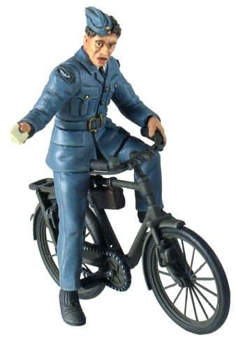WB25024 RAF Ground Crewman on Bicycle