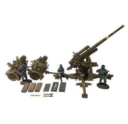 WB25059 German 88mm Flak 36, Dual Purpose Gun with 3 Man Crew
