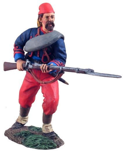 WB31105 Union 114th Pennsylvania Zouaves advancing at the Ready