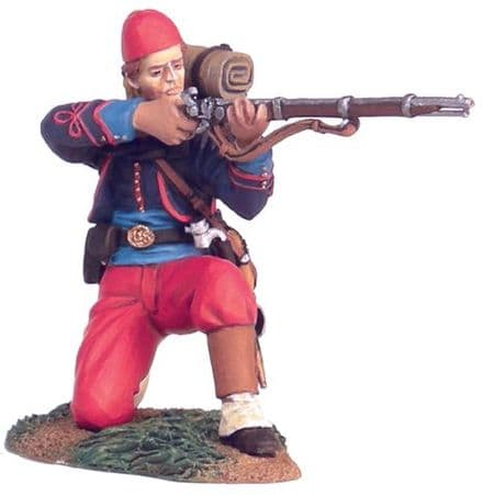 WB31114 Union 114th Pennsylvania Zouaves Kneeling Firing