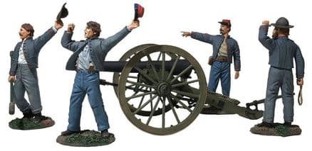 "WB31264 ""We Hit 'em Boys!"" Confederate 10 Pound Parrott Gun 6 Piece Ltd Ed of 400"