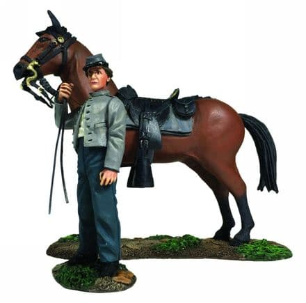 WB31270 Confederate Orderly Holding Horse
