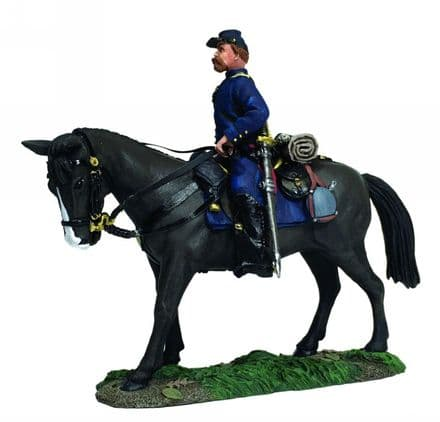 WB31276 Federal Infantry Officer Mounted