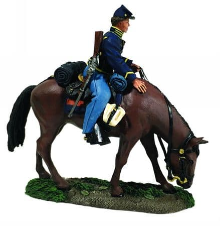 WB31277 Federal Cavalry Trooper Mounted
