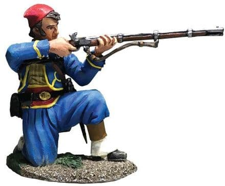 WB31285 Union Infantry 146th NY Zouave Kneeling Firing No. 1