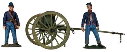 WB31291 Federal Light Artillery Limber Set with Two Man Crew