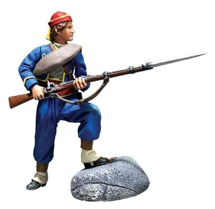 WB31296  Union Infantry 146th NY Zouave Standing Defending No.1
