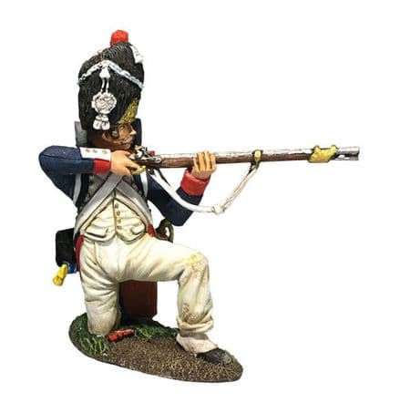 WB36178 French Old Guard 1st Rank Kneeling Firing